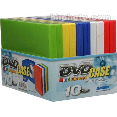 Merit Line Multi Color DVD Case (10)
