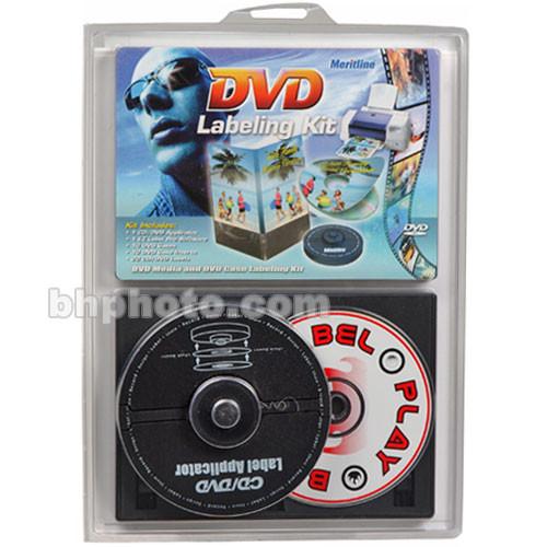 Merit Line CD and DVD Labeling Kit