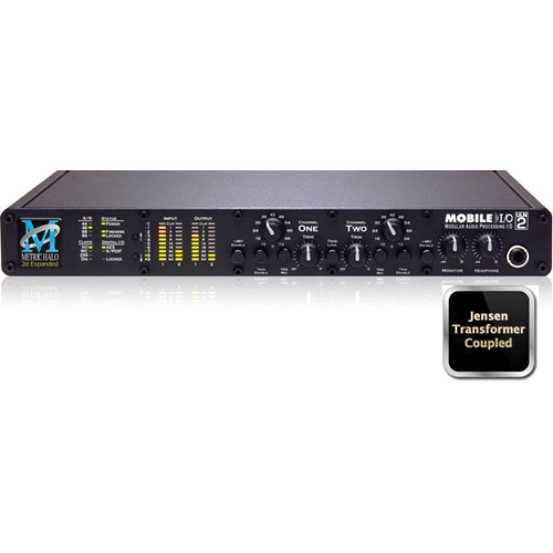 Metric Halo ULN-2 Expanded FireWire Audio Interface with Jensen Transformers