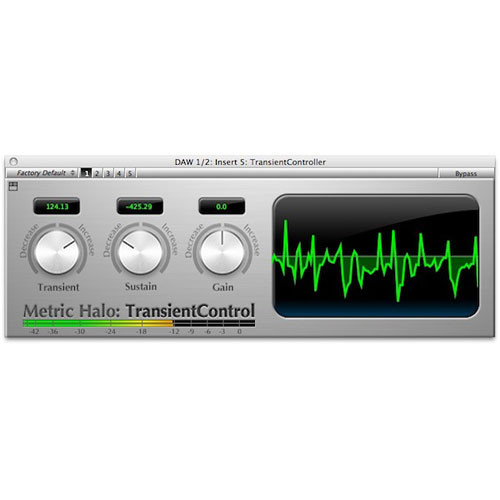 Metric Halo Transient Control - Dynamics DSP for Mobile I/O
