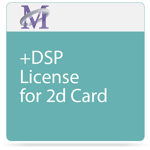 Metric Halo +DSP License for 2d Card