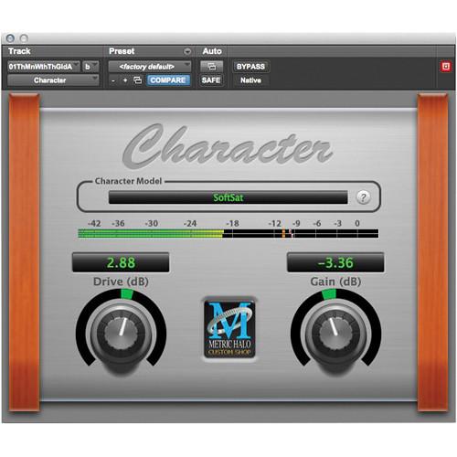 Metric Halo Character - Analog Circuit Modeling Plug-In