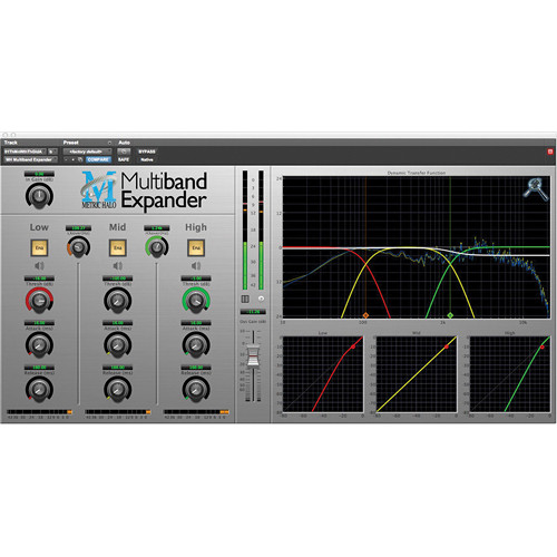 Metric Halo Multiband Expander - Dynamics Plug-In