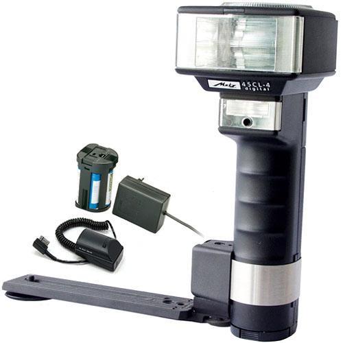 Metz mecablitz 45CL-4 Digital TTL Handle Mount Flash Kit