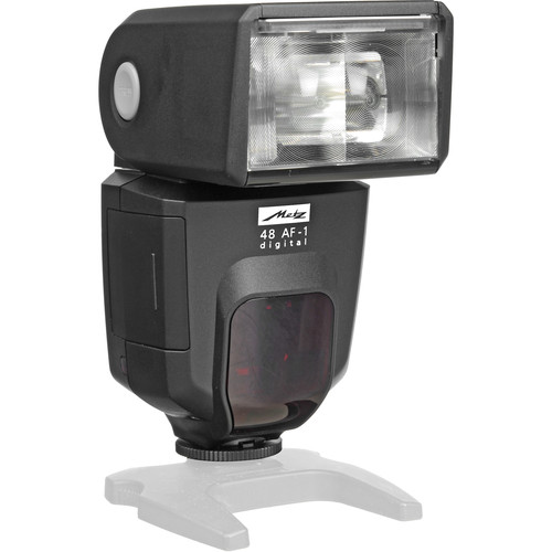 Metz mecablitz 48 AF-1 TTL Shoe Mount Flash for Olympus & Panasonic SLR Cameras