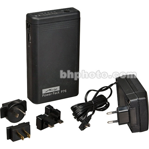 Metz P76 NiMH Power Pack with Charger