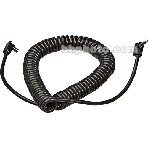 Metz 36-52 PC Male to Sub-Miniphone Sync Cord - Coiled 1-3' (20-80 cm)