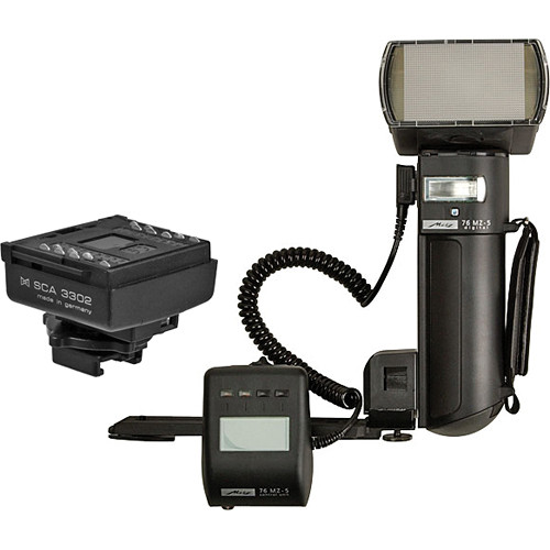 Metz mecablitz 76 MZ-5 digital Flash Kit for Sony/Minolta Cameras