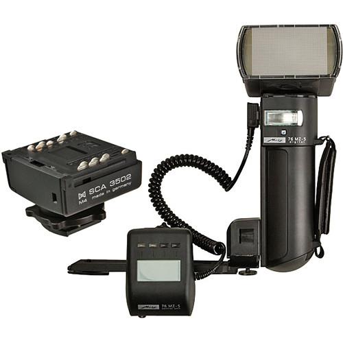 Metz mecablitz 76 MZ-5 digital Flash Kit for Leica Cameras