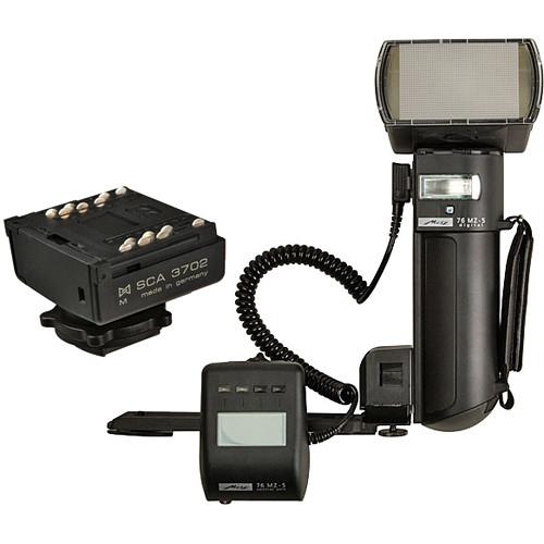 Metz mecablitz 76 MZ-5 digital Flash Kit for Pentax Cameras