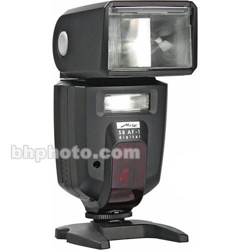 metz mecablitz 58 af 1 digital flash for sony minolta cameras. Black Bedroom Furniture Sets. Home Design Ideas
