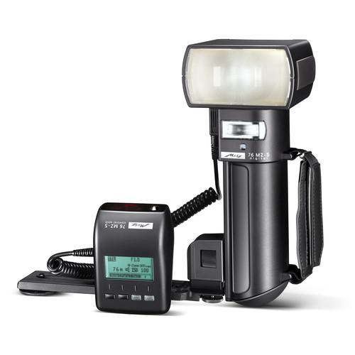 Metz mecablitz 76 MZ-5 digital Flash Kit for Olympus/Panasonic Cameras