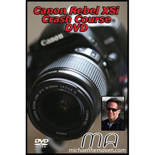 Michael the Maven Canon Rebel XSi Crash Course DVD (Training Guide)