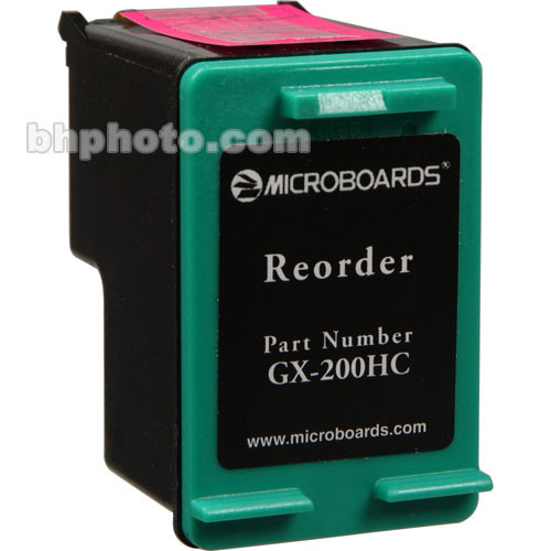 Microboards Tri-Color Ink Cartridge for GX-1 Disc Publisher