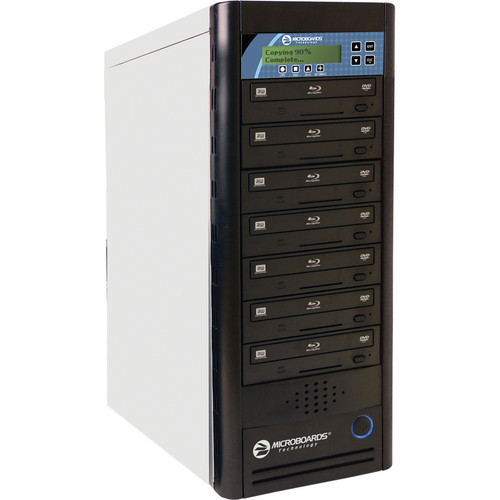 Microboards 1:7 Networkable CopyWriter Pro Tower BD/CD/DVD Duplicator