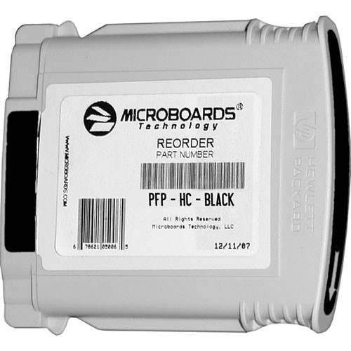 Microboards Black Ink Cartridge for Microboards MX1, MX2 & PF-Pro Printers