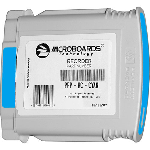 Microboards Cyan Ink Cartridge for Microboards MX1, MX2 & PF-Pro Printers