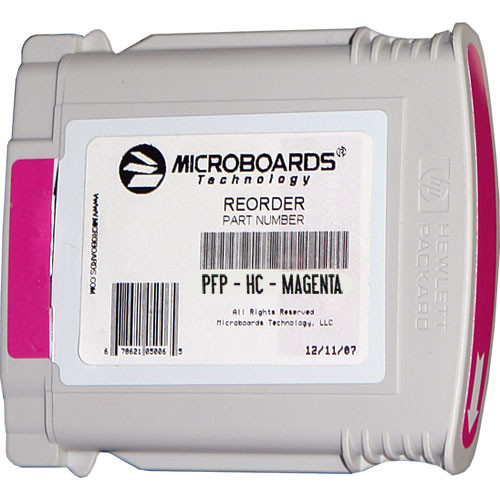 Microboards Magenta Ink Cartridge for Microboards MX1, MX2 & PF-Pro Printers