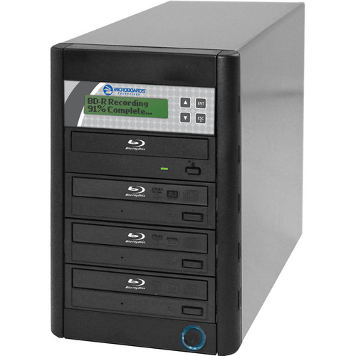 Microboards QD-BD-H4 Blu-ray Tower Duplicator