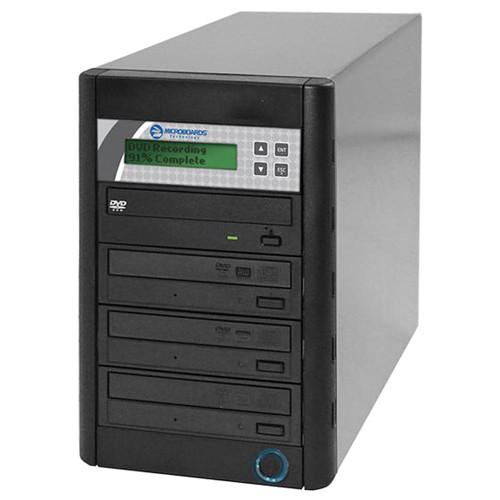 Microboards QD-DVD-123 24x/48x Standalone 1:3 DVD/CD Duplicator
