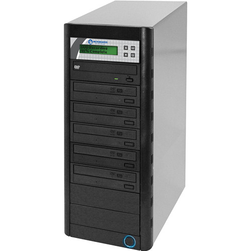 Microboards QD-DVDH-125 24x/48x Standalone 1:5 DVD/CD Duplicator