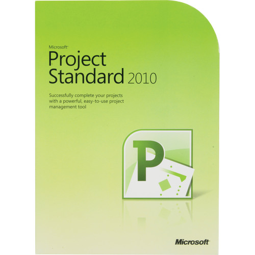 Microsoft Project Standard 2010 Software (32/64-bit)