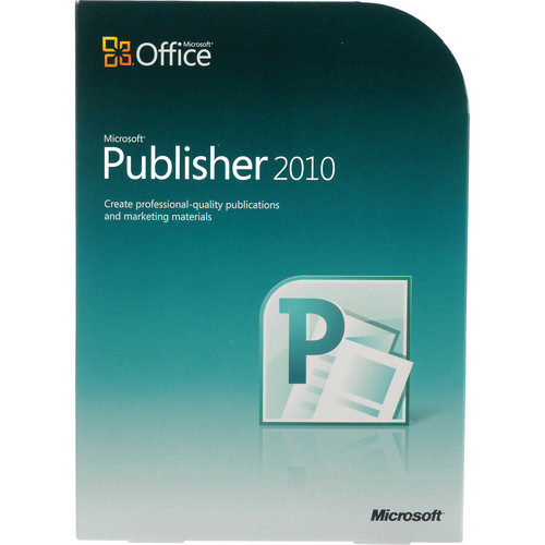 Microsoft Publisher 2010 Software