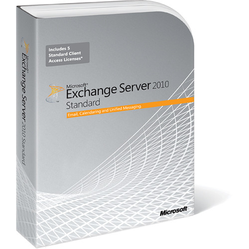 Microsoft Exchange Server 2010 Software (64-bit)