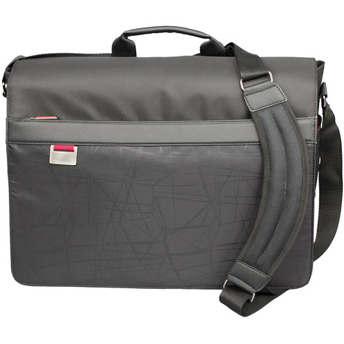 "Microsoft 39008 17"" MT Messenger Laptop Bag (Red)"