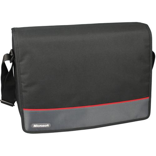 "Microsoft 15.6"" Messenger Laptop Bag (Black)"