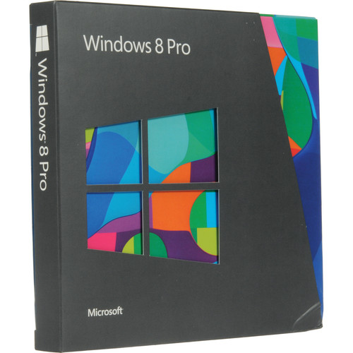 Microsoft Windows 8 Pro Upgrade DVD