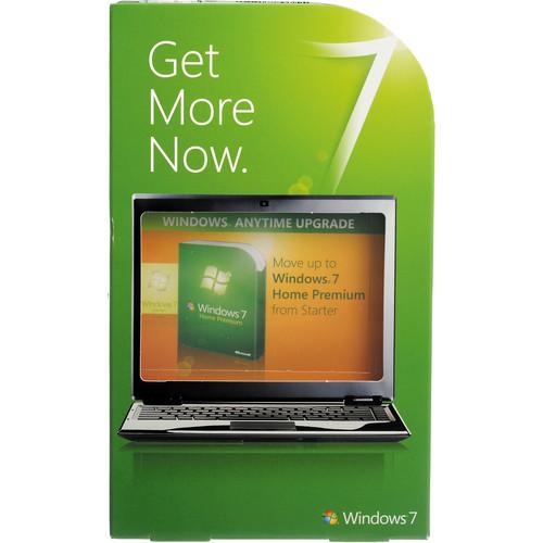 Microsoft Windows 7 Home Premium (Anytime Upgrade from Windows 7 Starter 32/64-bit)