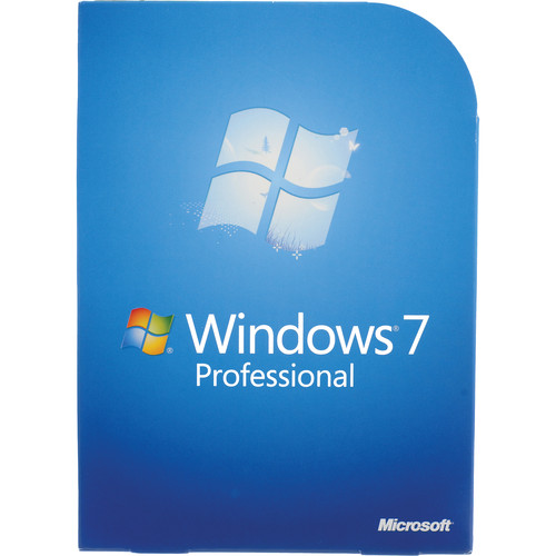 Microsoft Windows 7 Professional (32- or 64-Bit)
