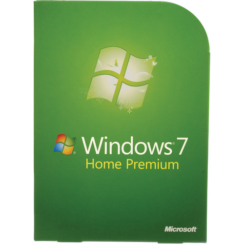Microsoft Windows 7 Home Premium (32- or 64-bit) DVD