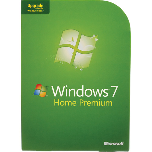 Microsoft Windows 7 Home Premium (32- or 64-bit) (Upgrade from XP or Vista) DVD