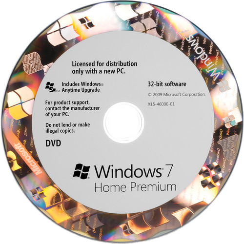 Microsoft Windows 7 Home Premium   (32-bit) (OEM)