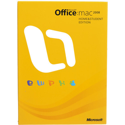 Microsoft Office 2008 for Mac Home and Student Edition (3-Computer License)