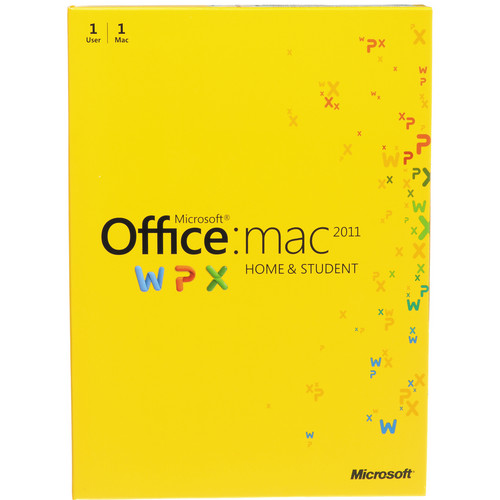 Microsoft Office for Mac Home and Student Edition 2011