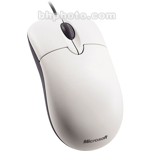 Microsoft Basic Optical Mouse - PS/2 and USB (White)