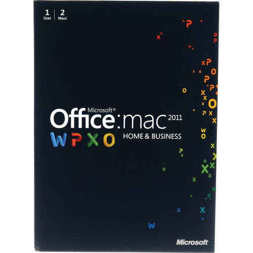 Microsoft Office for Mac Home and Business Edition 2011 (2 Computer License)