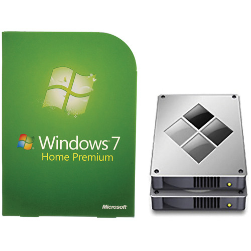 Microsoft Windows 7 Home Premium (32 or 64-Bit) Kit with Boot Camp Configuration