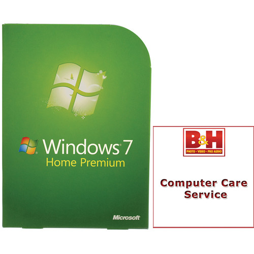 Microsoft Windows 7 Home Premium (32- or 64-bit) / Parallels Desktop B&H Kit