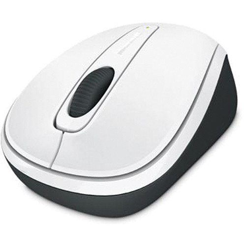 Microsoft Wireless Mobile Mouse 3500 (White)