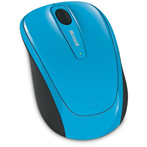 Microsoft Wireless Mobile Mouse 3500 (Cyan Blue)