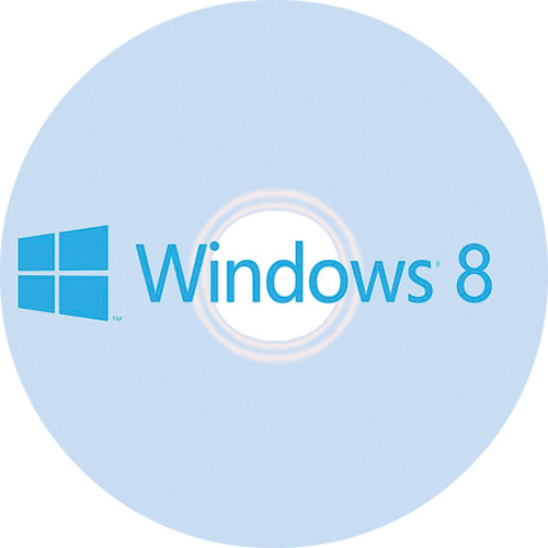 Microsoft Windows 8 (64-bit) System Builder DVD