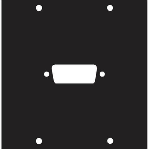 Middle Atlantic 1 DB15 Punchout Panel