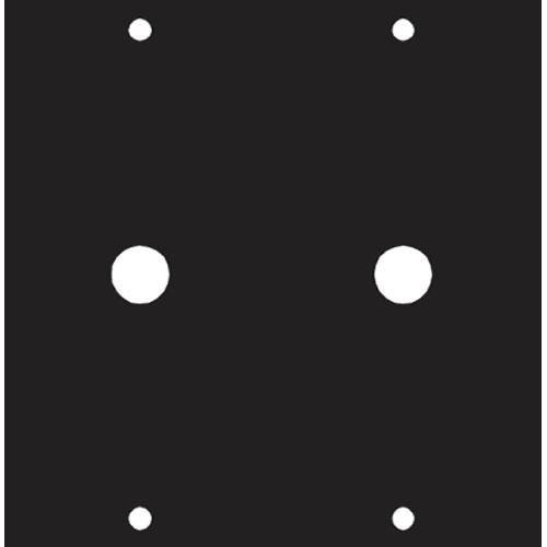 Middle Atlantic 1/4 X 2 Panel