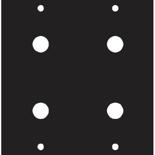 Middle Atlantic 1/4 X 4 Panel