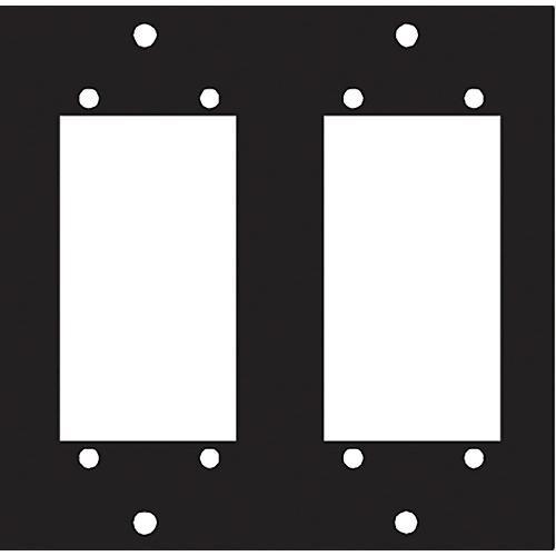 Middle Atlantic Dual Elco 90 Punchout Panel