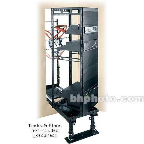 Middle Atlantic Rack System Rotating Millwork In-Wall